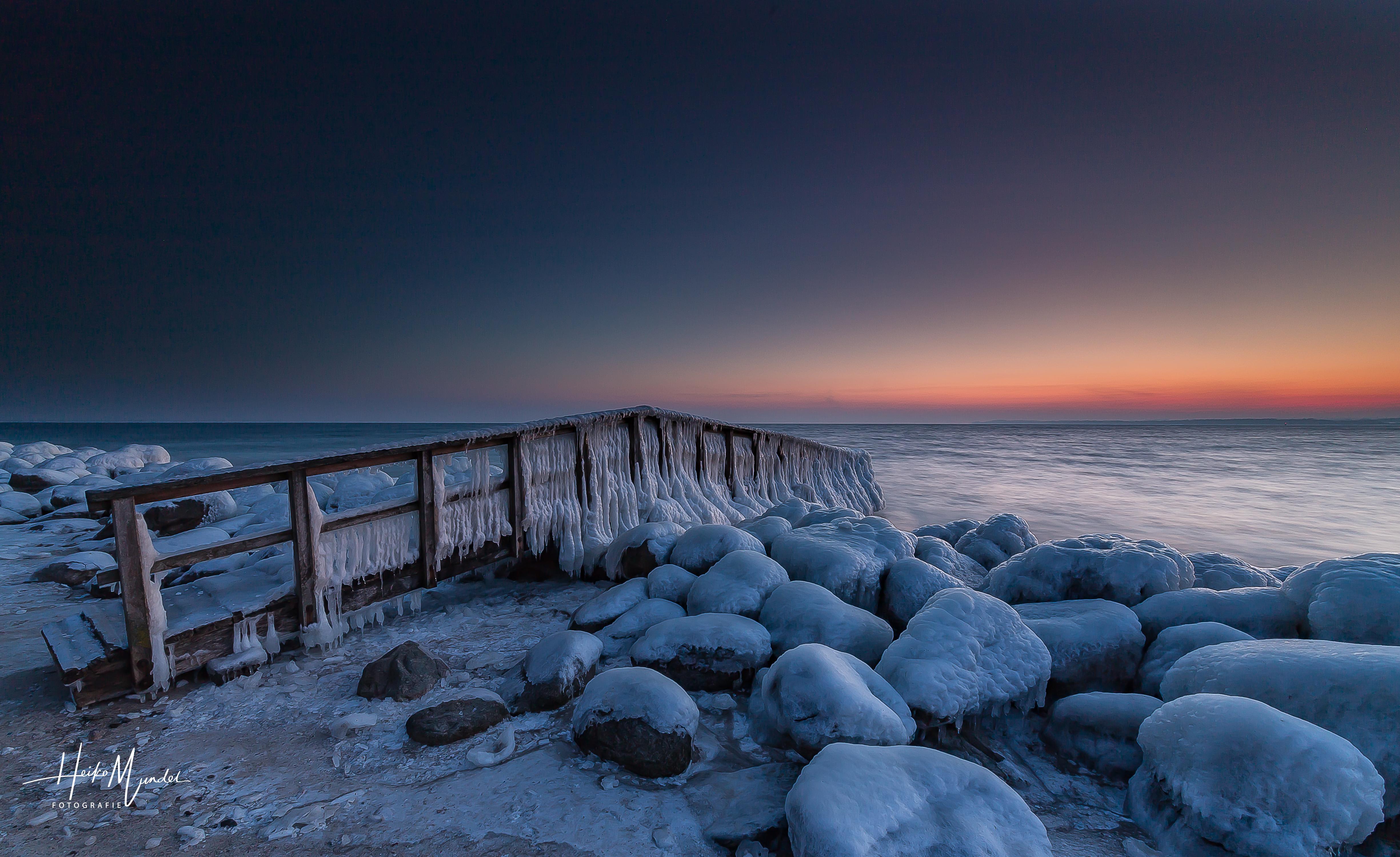 Eiszeit an der Ostsee -4-