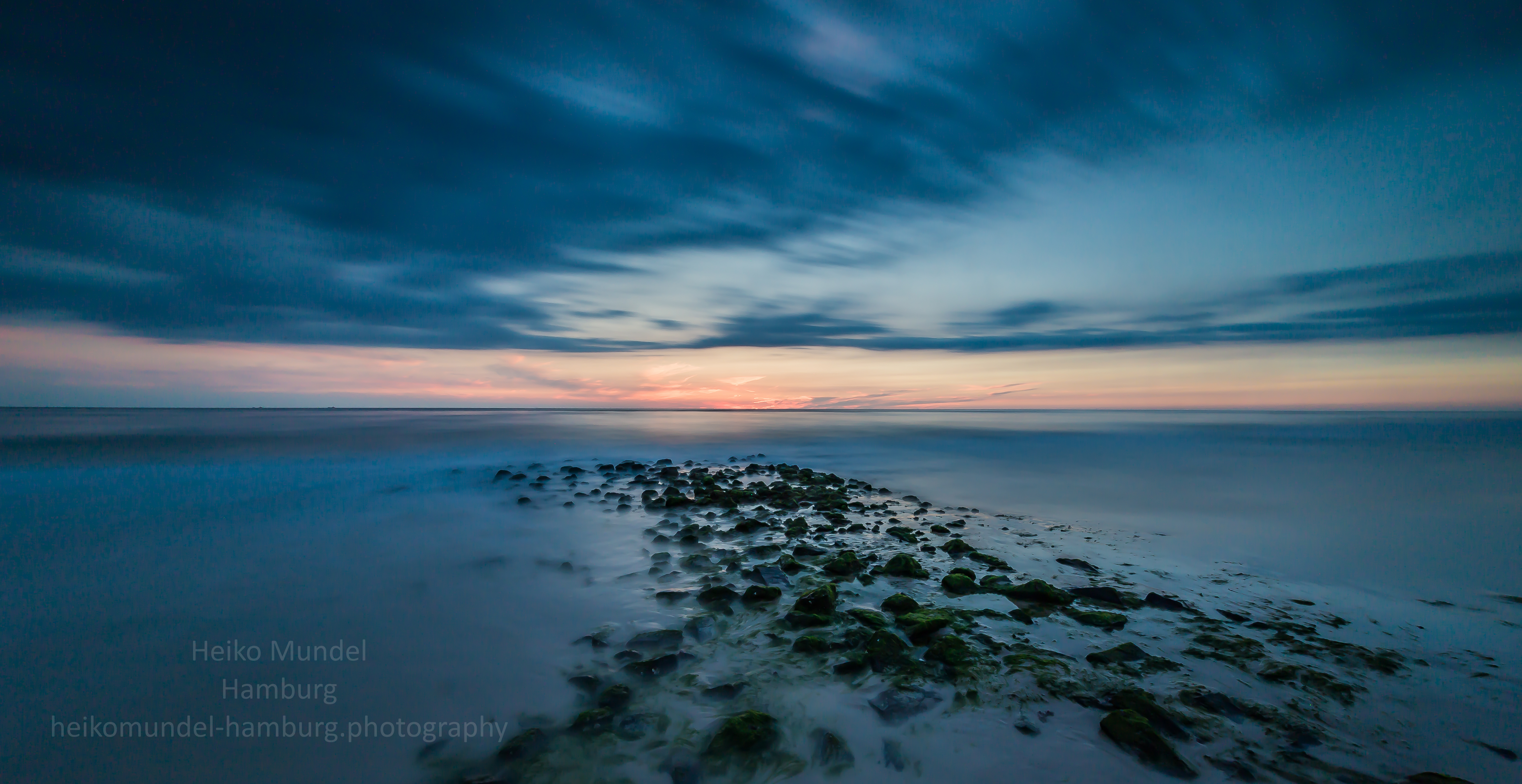Sonnenuntergang Westerland / Sylt