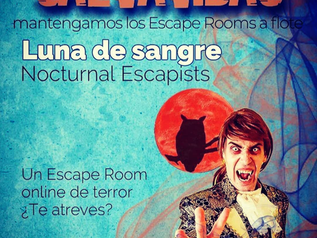 Evento SALVAVIDAS. Mantengamos los escape rooms a flote