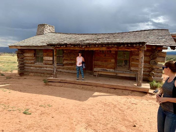 Ghost Ranch... This cabin is in lots of