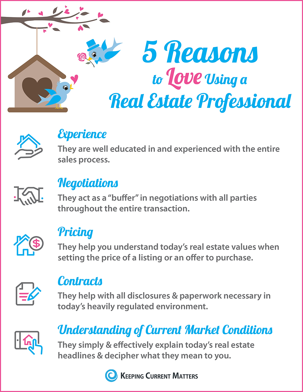5 reasons to love using a real estate professional