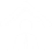 Icon of lender in a house