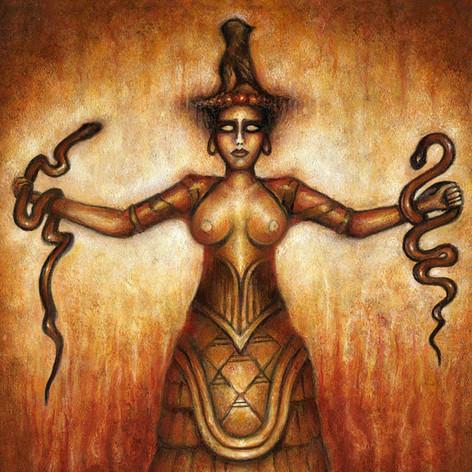Minoan serpent Goddess