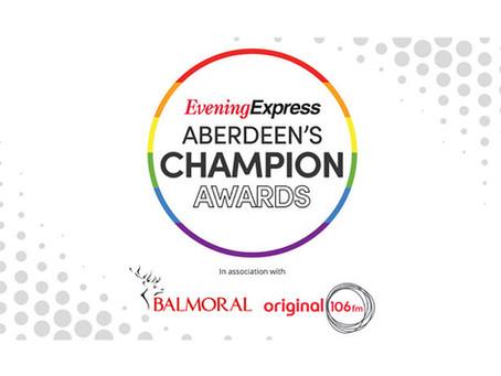 Archer Knight sponsors Aberdeen's Champion Awards