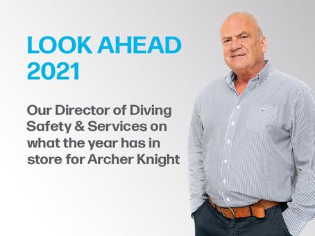 Look Ahead 2021 – Derek Beddows