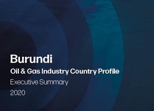 AKMI Burundi Oil & Gas Country Profile