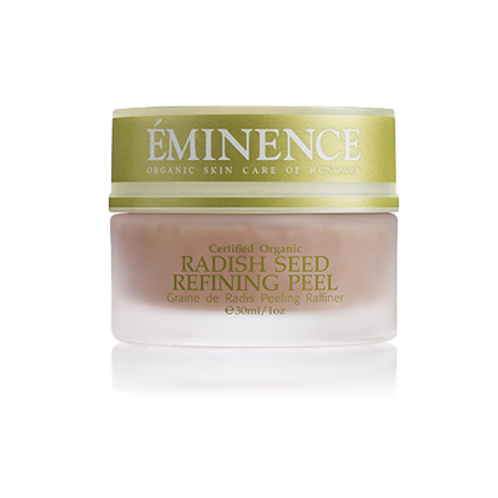 Eminence Organics Radish Seed Refining Peel
