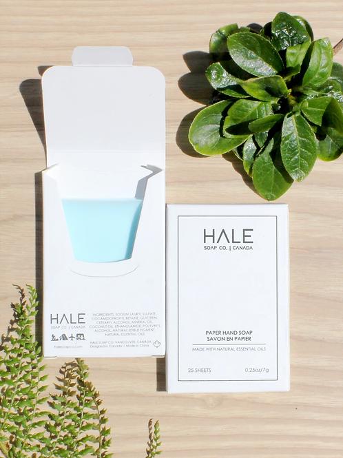 HALE Paper Hand Soap- Sea Breeze