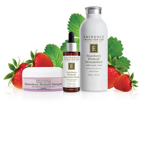 Eminence Organics Strawberry Rhubarb Bundle