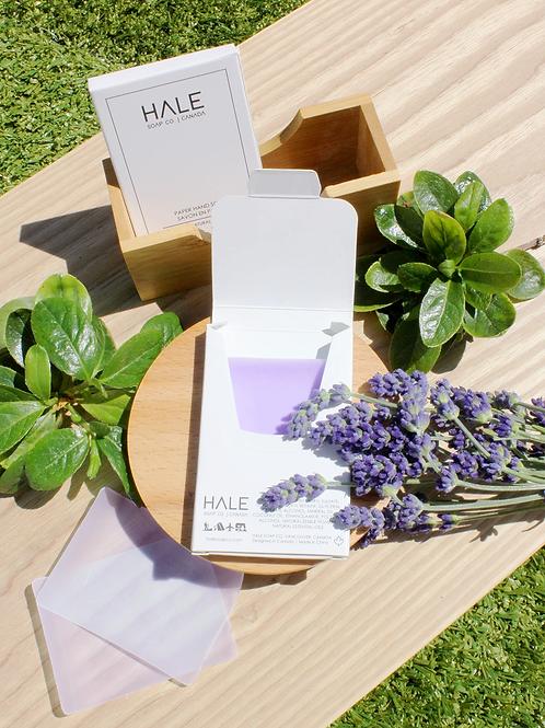 HALE Paper Hand Soap - Calm Lavender