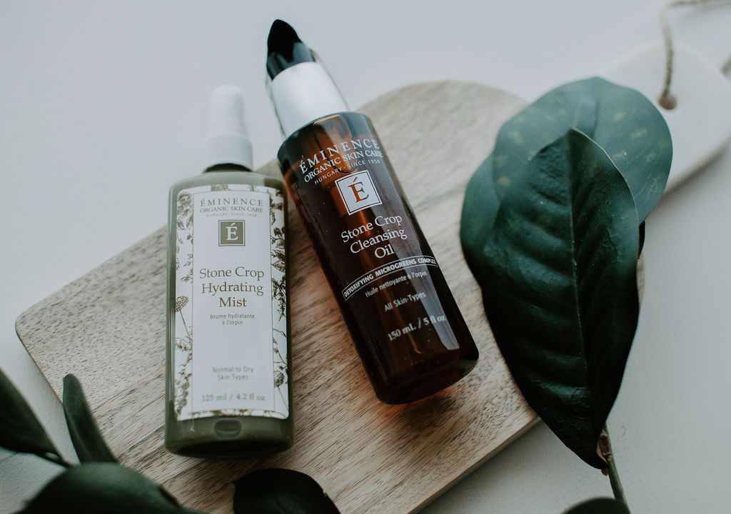Stone Crop Mist + Stone Crop Cleansing Oil