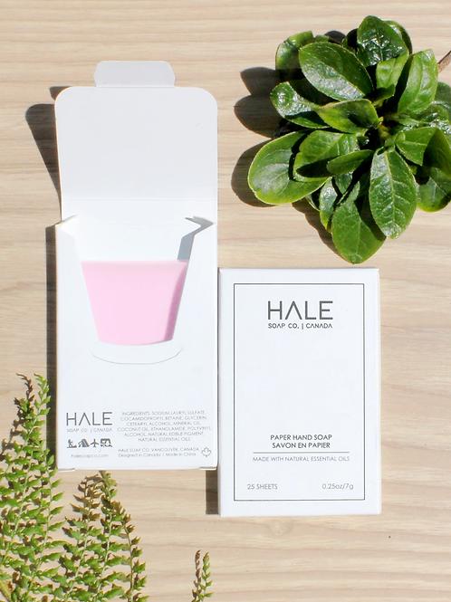 HALE Paper Hand Soap  -Wild Rose