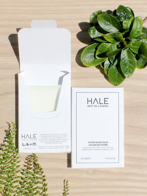 HALE Paper Hand Soap  - White Jasmine