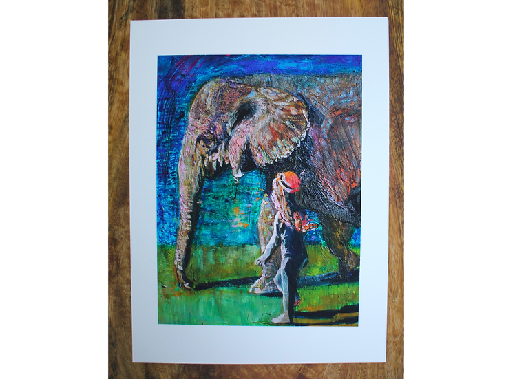 A Walk To Remember - Fine Art Card