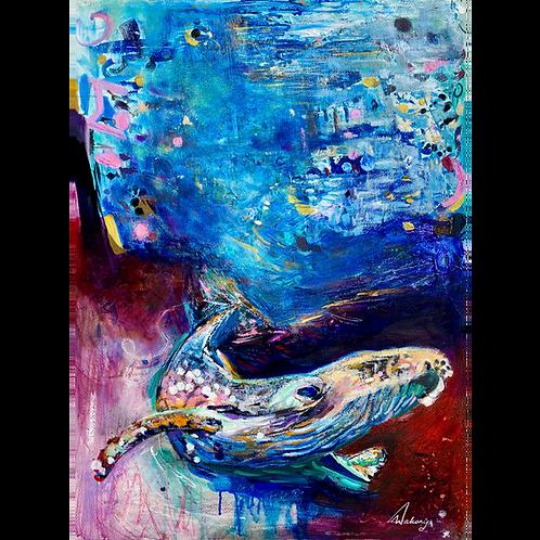 Ocean Whisperer - Fine Art Print