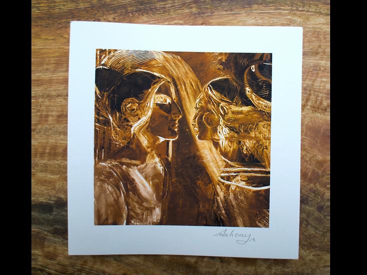 Waking With Dreams III - Fine Art Card