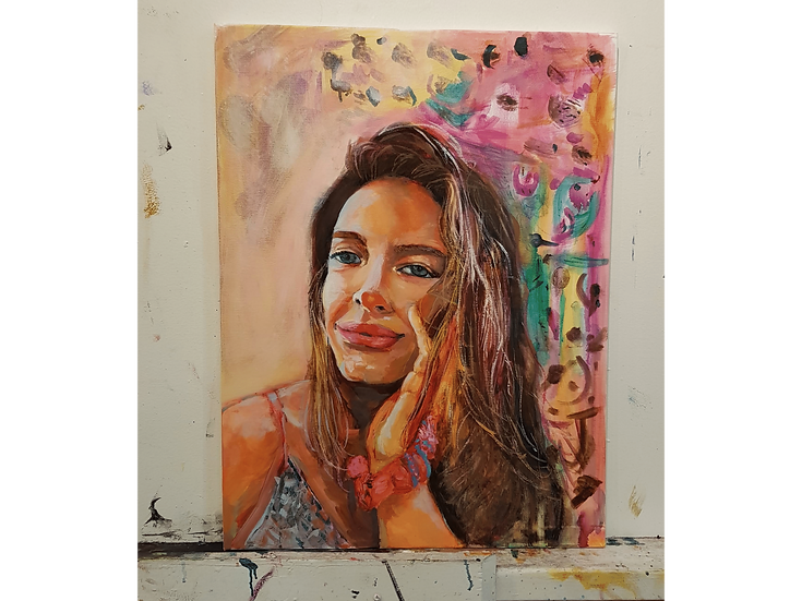 Self Portrait 2019 - Framed (47cm x 62cm)