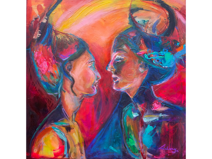I Saw You As Yourself (66cm x 66cm)