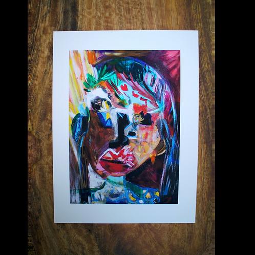 Lady Entropy - Fine Art Card
