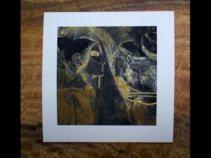 Waking With Dreams II - Fine Art Card