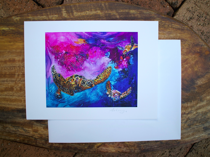 Out In Space - Fine Art Card