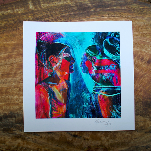Waking With Dreams I - Fine Art Card