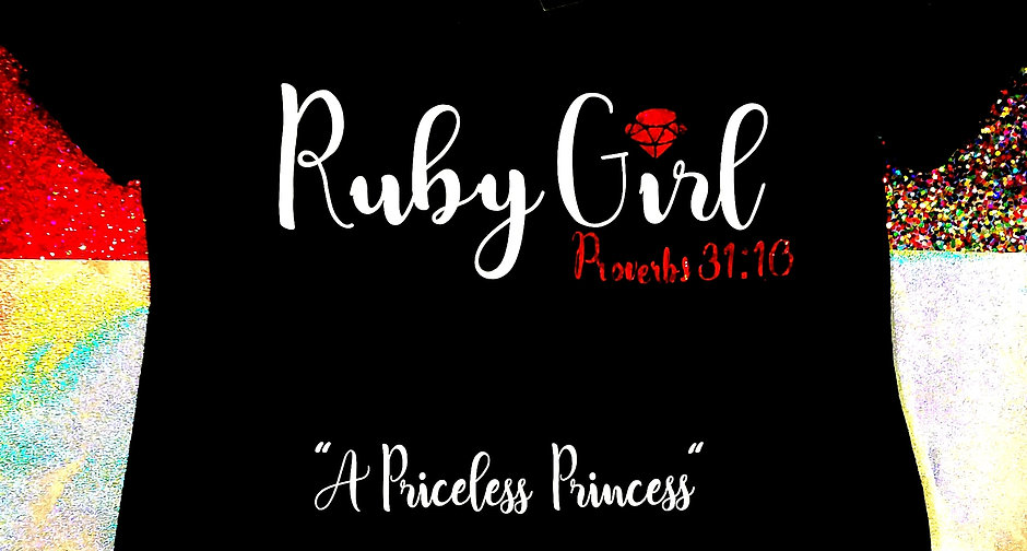 Ruby Girl T-Shirt Tapered Cut-New