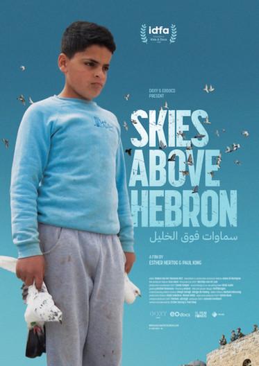 Skies above Hebron