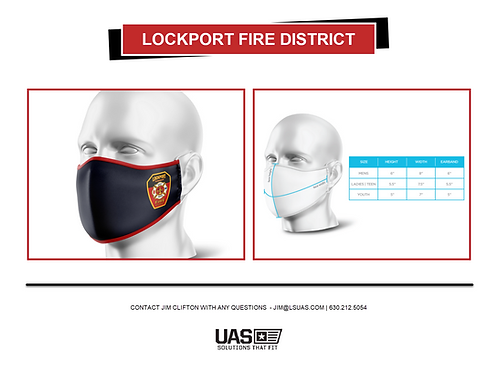 Lockport Fire Face Mask