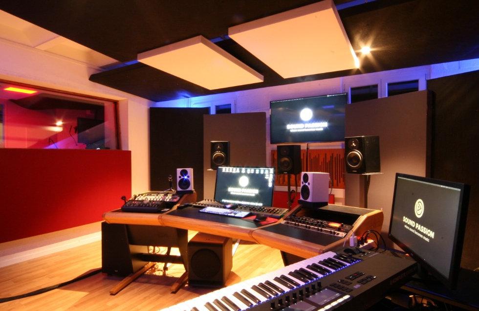 Tonstudio Mixing und Mastering SoundPassion Marco Buser