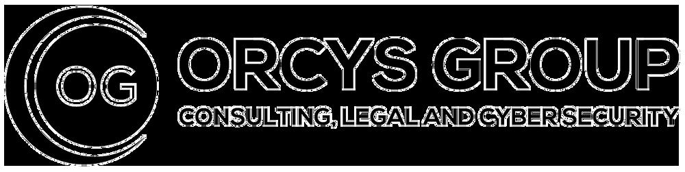 Logotipo Orcys Group Preto LGPD