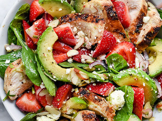 A Sweet Summer Salad To Swoon For