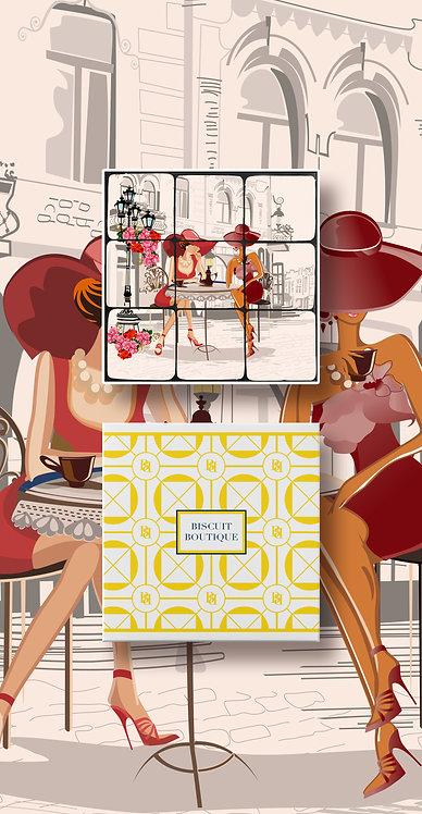 Mosaic Biscuit Box Girls1
