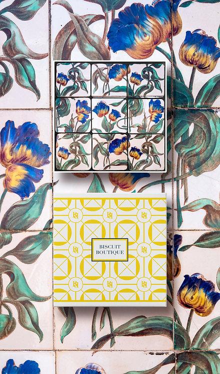 Bonbon style mosaic biscuit box - Tile13