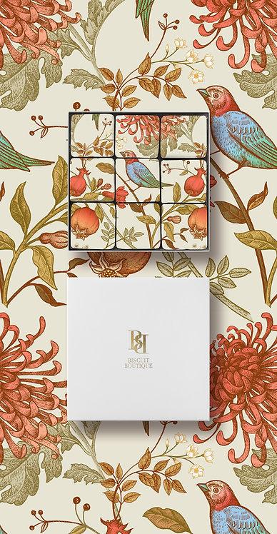 MOSAIC BISCUIT BOX - FL16