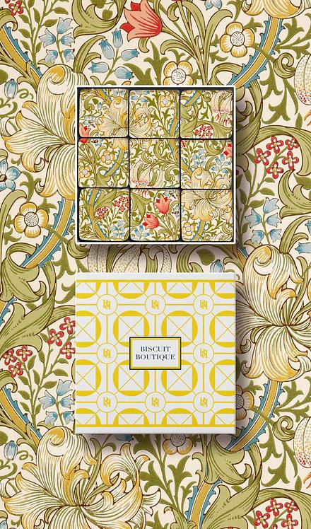 Mosaic Biscuit Box - FL43