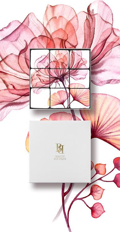 MOSAIC BISCUIT BOX - FL8