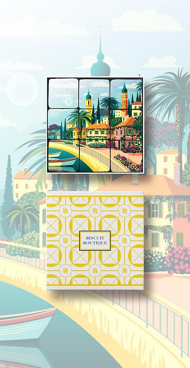 PRALINES IN COCOA BISCUIT SHELLS - Riviera3