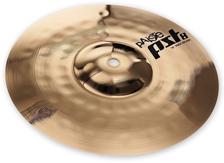 "Paiste 10"" PST 8 Reflector Rock Splash Cymbal"