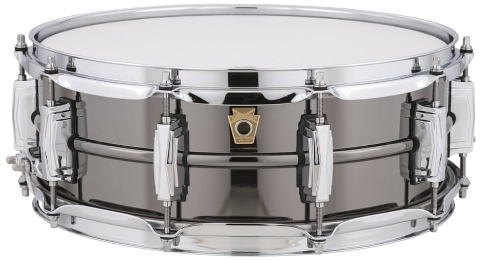 """Ludwig 14"""" x 5"""" Black Beauty Snare Drum"""