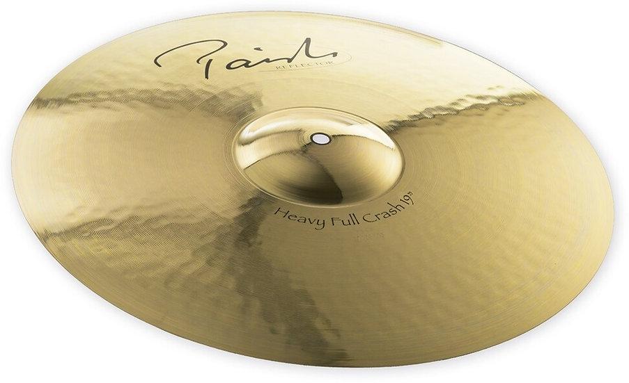 "Paiste 19"" Signature Reflector Heavy Full Crash Cymbal"