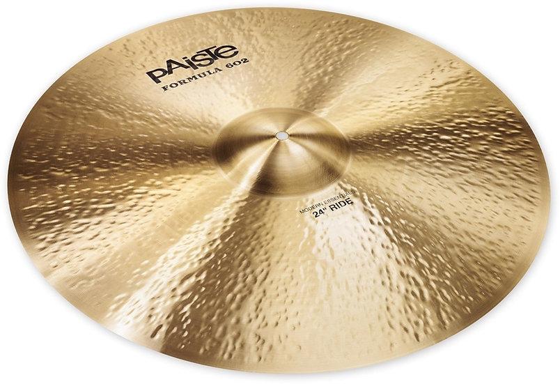 "Paiste 24"" Formula 602 Modern Essentials Ride Cymbal"