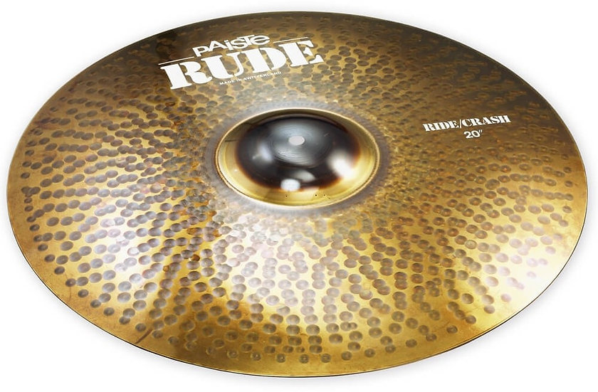 "Paiste 20"" RUDE Ride/Crash Cymbal"
