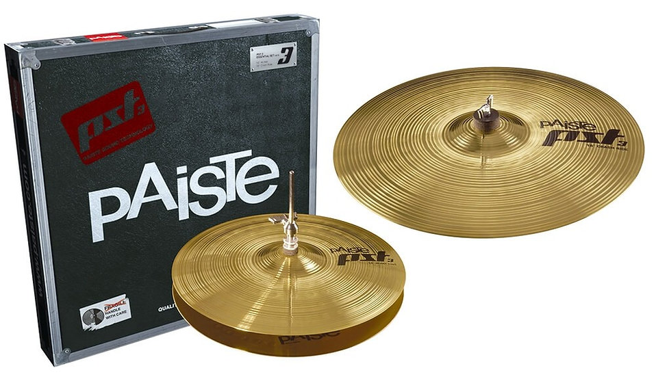 Paiste PST3 2pc Essential Cymbal Set