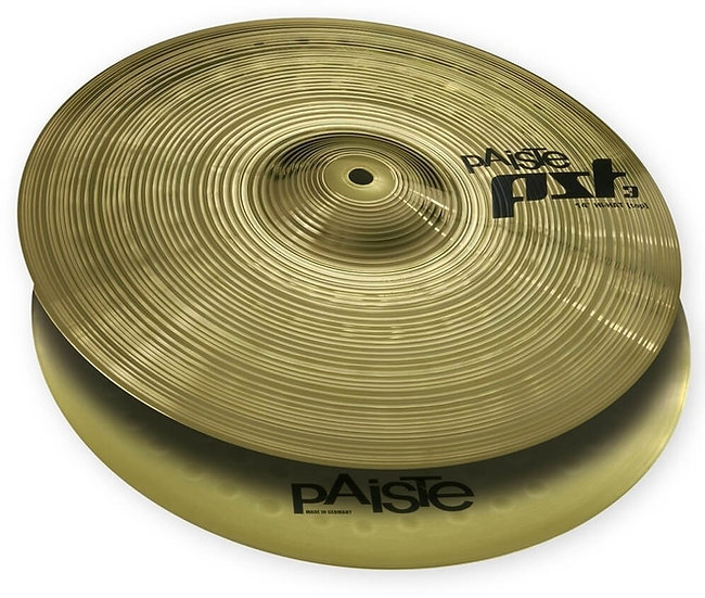 """Paiste 14"""" PST 3 Hi-Hat Cymbals"""