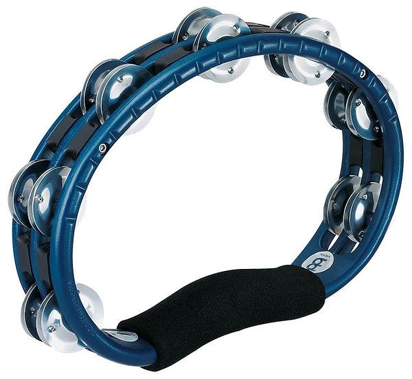 Meinl TMT1A-B Handheld Aluminium Jingles Blue Tambourine