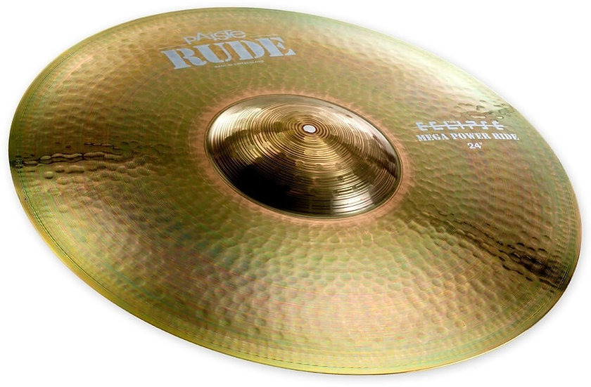 "Paiste 24"" RUDE Mega Power Ride Cymbal"