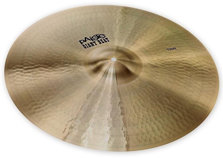 "Paiste 20"" Giant Beat Thin Cymbal"
