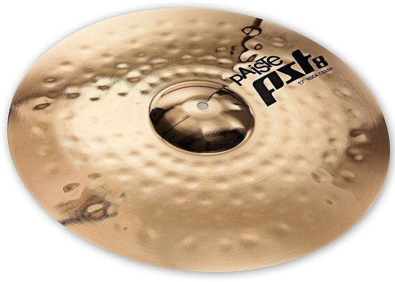 "Paiste 17"" PST 8 Reflector Rock Crash Cymbal"