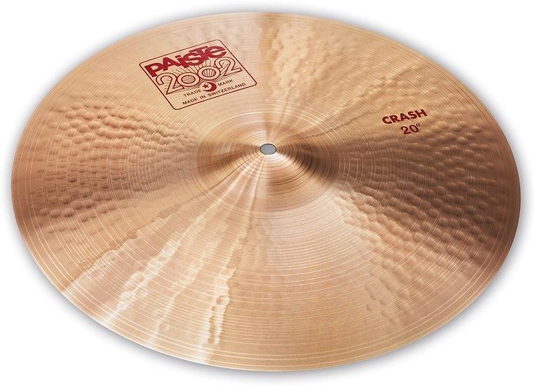 "Paiste 20"" 2002 Crash Cymbal"